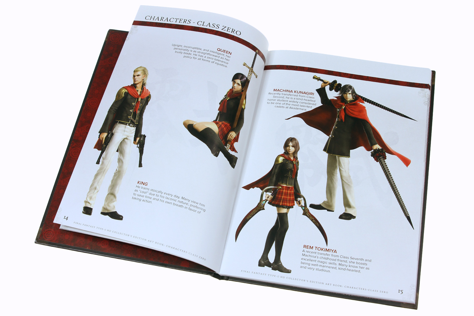 Final Fantasy Type-0 HD detail number 1